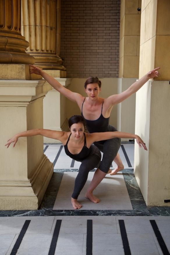 UPside Dance Column Duet. 2012 Di Desmond