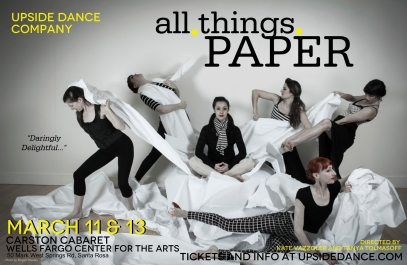 UPside Dance all.things.PAPER Poster 1